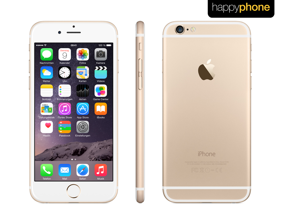 apple iphone 6 64gb gold neu in basel kaufen bei. Black Bedroom Furniture Sets. Home Design Ideas