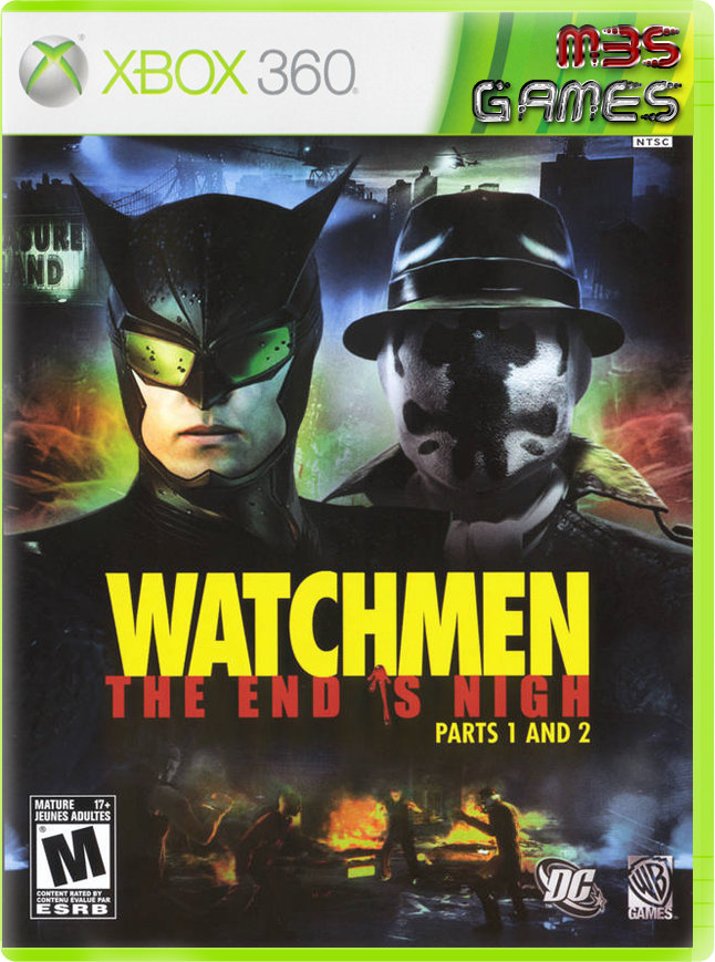 Watchmen the end is nigh español region free 999mb 8 links fls