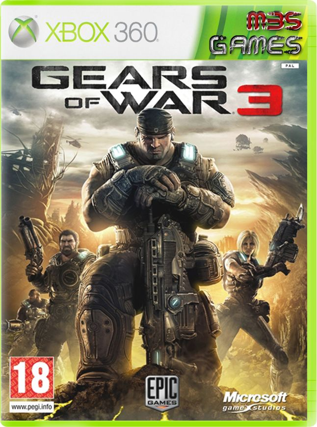 Gears Of War 3 full descarga!