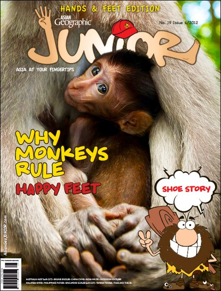 Asian Geographic Junior - Issue 04, 2012