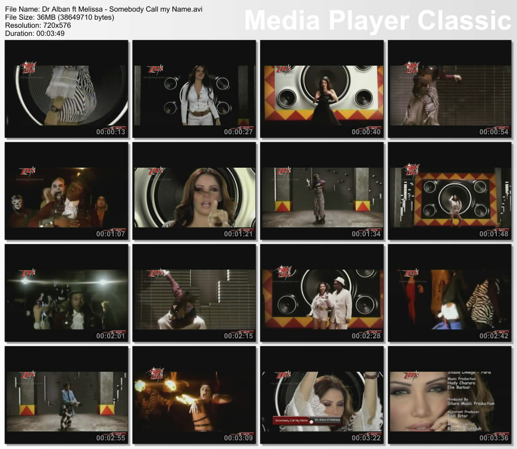 Dr Alban ft Melissa - Somebody Call my Name, Videoclip DVD Quality !! 1