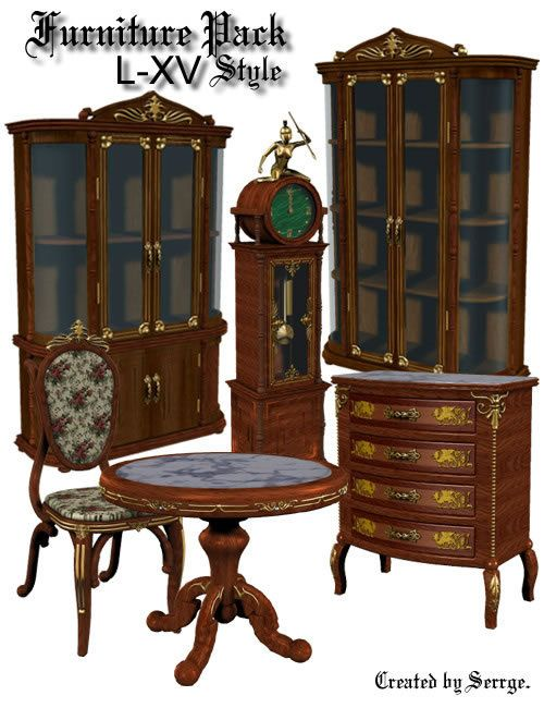L-XV Furniture Pack