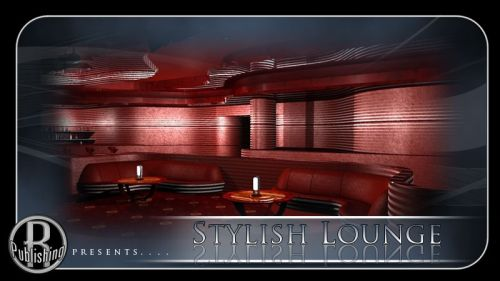 Stylish Lounge for Poser