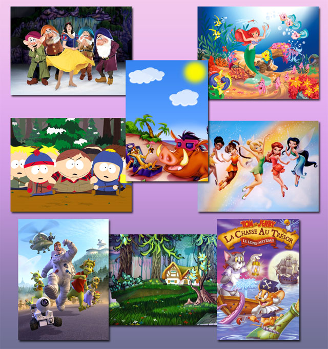 Cartoon background Images for